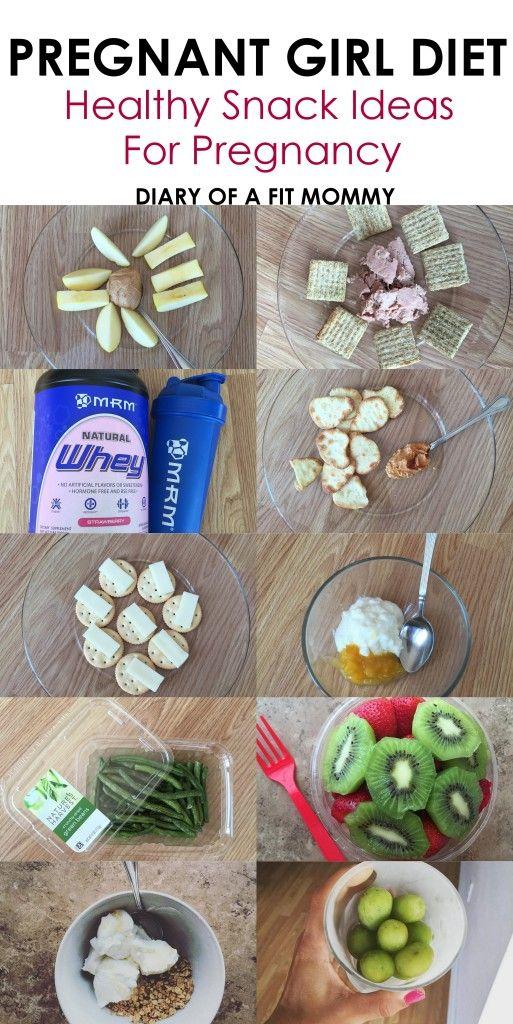 Pregnant Girl Diet: Healthy Snacks Ideas for Pregnancy