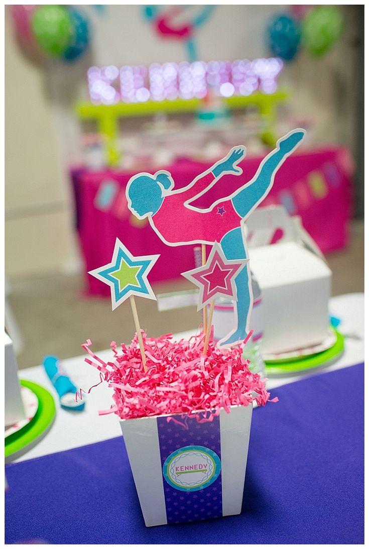 Gymnastics Birthday Party Decorations