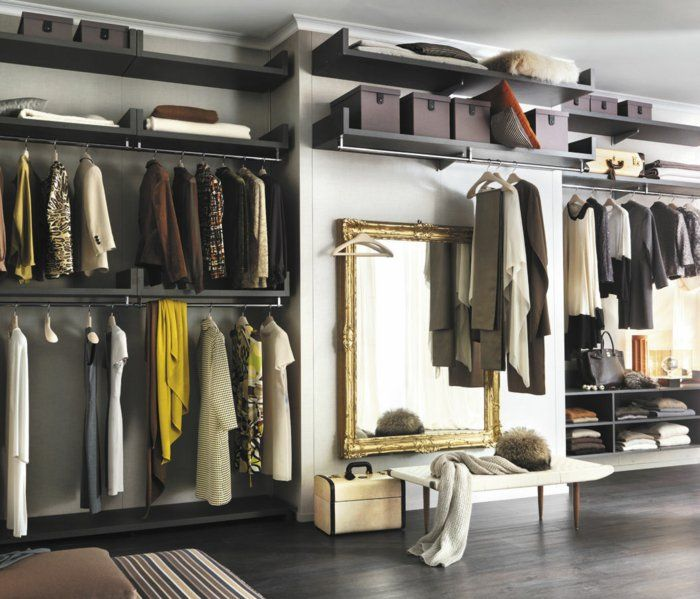Spectacular Offener Kleiderschrank Beispiele wie der Kleiderschrank ohne T ren modern und funktional vorkommt