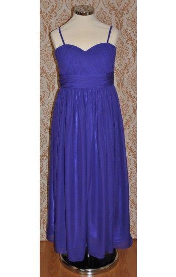 Purple teenage bridesmaid dresses