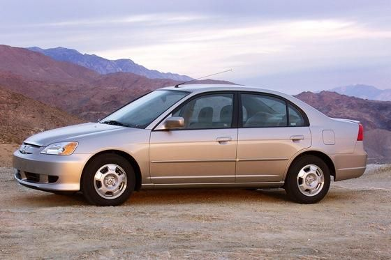 2003-2005 Honda Civic Hybrid: Used Car Review - Autotrader
