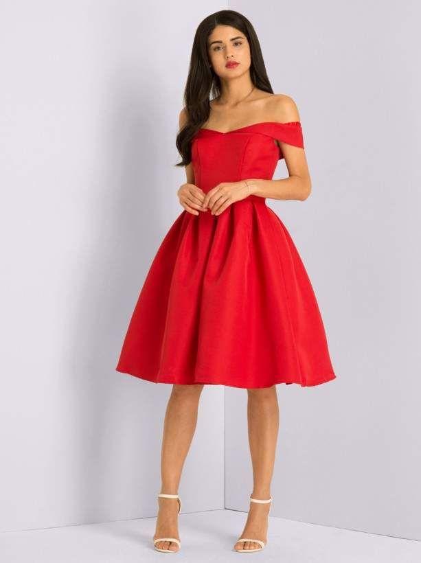31++ Chi chi red bardot dress ideas