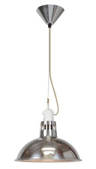 The Knox Pendant Light Aluminium - £170.00 - Hicks and Hicks