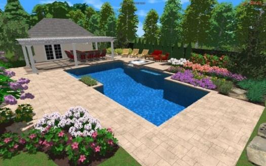 17 best images about pool design 3d on pinterest for Pool design 3d