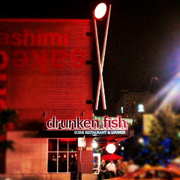 66 best eats i love or want to try in kc images on for Drunken fish kansas city