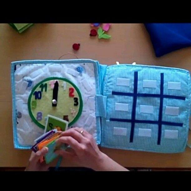25 вподобань, 2 коментарів – @mentalgrowth в Instagram: «#quietbook for #kids #cute #adorable #clock #time #colorful #school #instakids #babytoys #tictactoe»