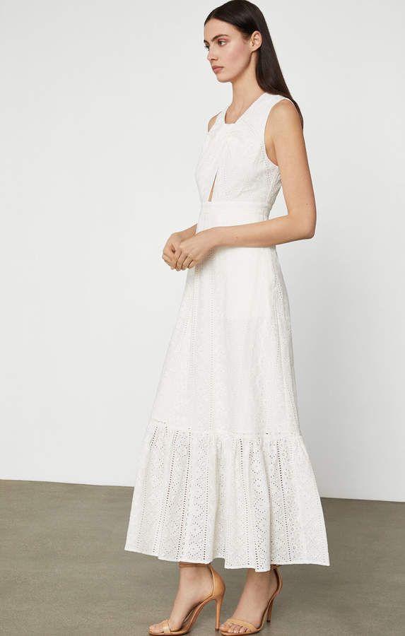 13++ Bcbg white dress information