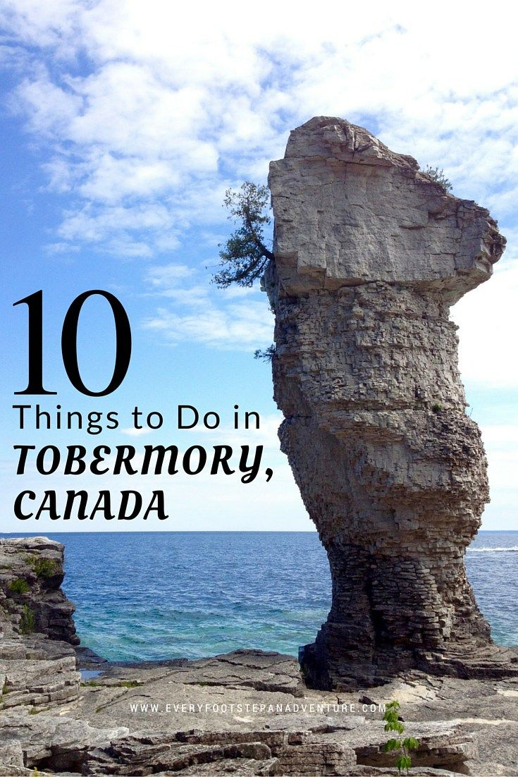 Tobermory is such a beautiful place. Its gorgeous natural areas, variety of outdoor adventure activities, quaint small town charm… the list goes on. Here are 10 things you need to do when you visit Tobermory!