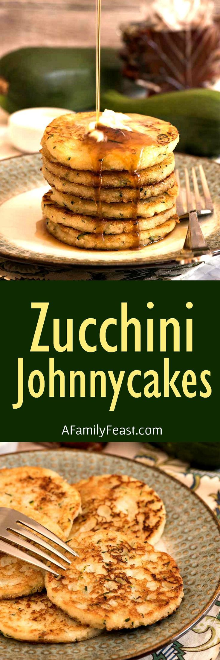 Our Zucchini Johnnycakes are a delicious change-up to a New England  classic recipe! Plus – they're another great way to cook with your  summer garden zucchini.