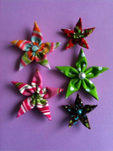 Star Fabric Ornaments                                                                                                                                                     More