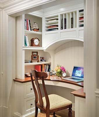 как самому сделать домашний офис в нише