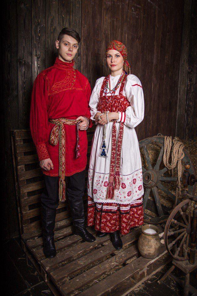 фотографии на темы русско народных костюмов он, она