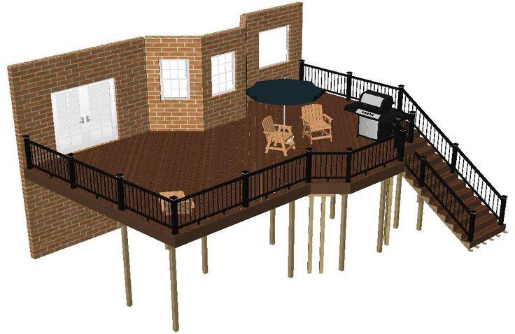 23 best landscape ideas images on pinterest backyard for Deck planner tool