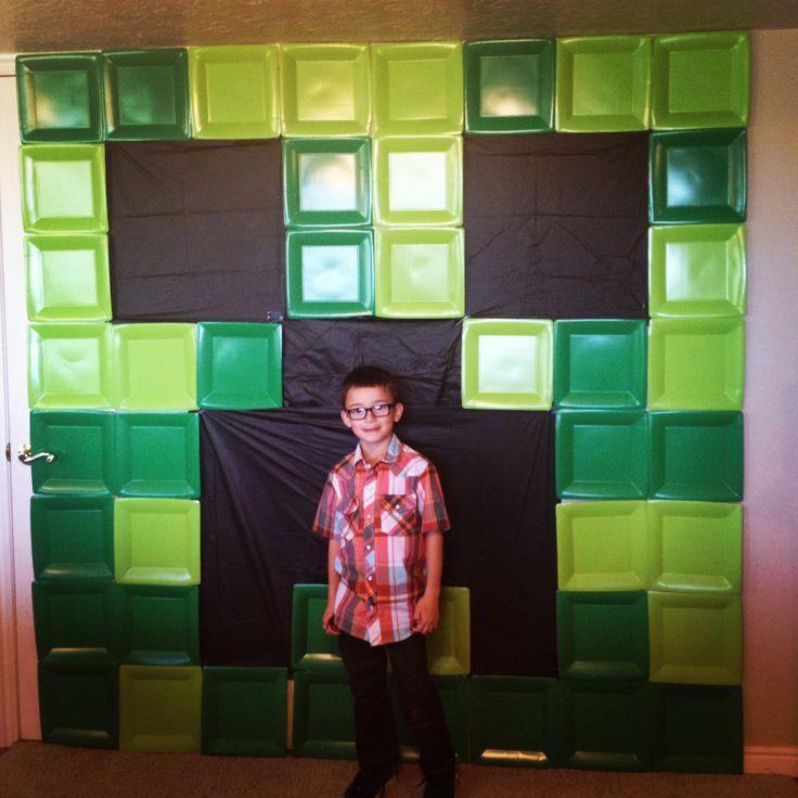 Jaxyns minecraft birthday party