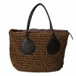 Straw Casual Beach Handbag