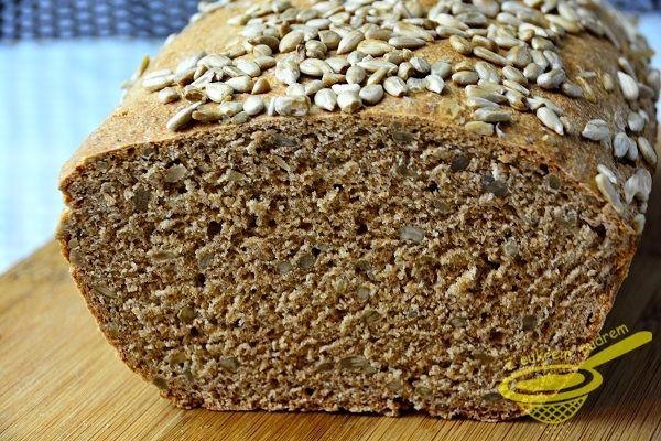 chleb orkiszowy ze słonecznikiem / хлеб с семенами подсолнечника