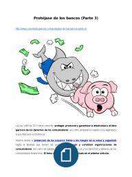 Protéjase de los bancos (Parte 3)
