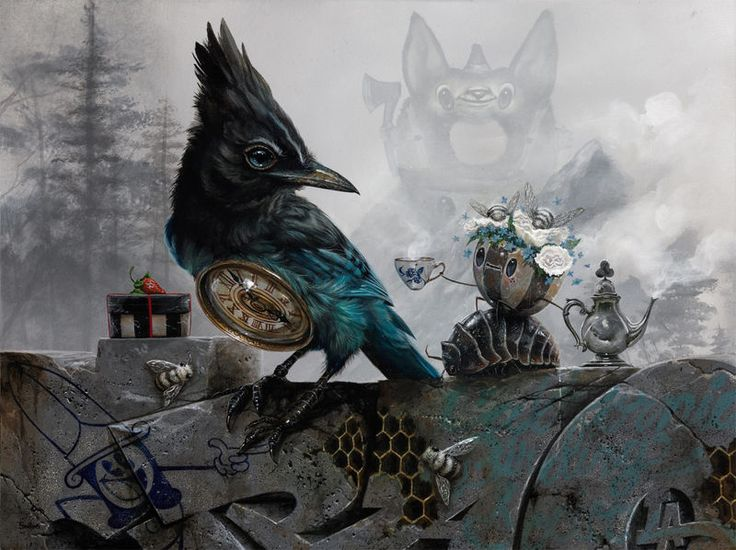 Chaotic Mystical Paintings : surrealism artwork