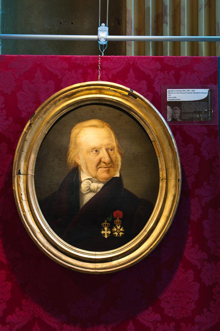 Agostino Cottolengo (Bra, 1794  - 1853) Ritratto di Carlo Francesco Giacinto Caissotti di Chiusano, 1831 Olio su tela Proprietà privata