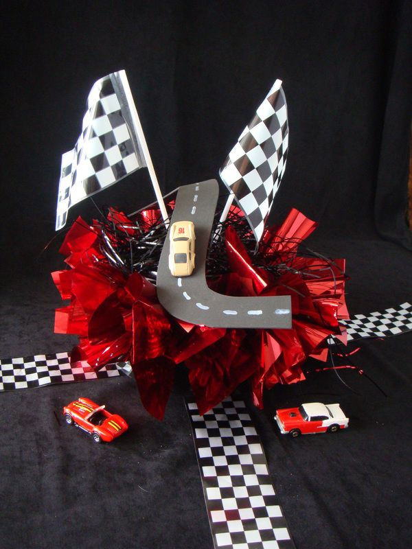 Dream Gala Fundraiser centerpiece ideas www.dreamon3.org dreamon3blog.com  racing fundraiser sports sport themed nonprofit children