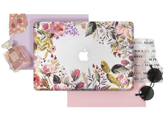 Floral Case Macbook Pro 15 Case Macbook Air 13 by CaseMagics