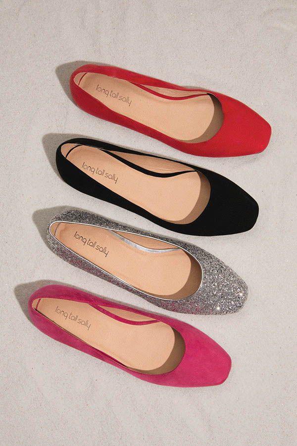 713c911fd LTS Violetta Square Toe Ballerina - Sizes US 9-15 UK 7-13