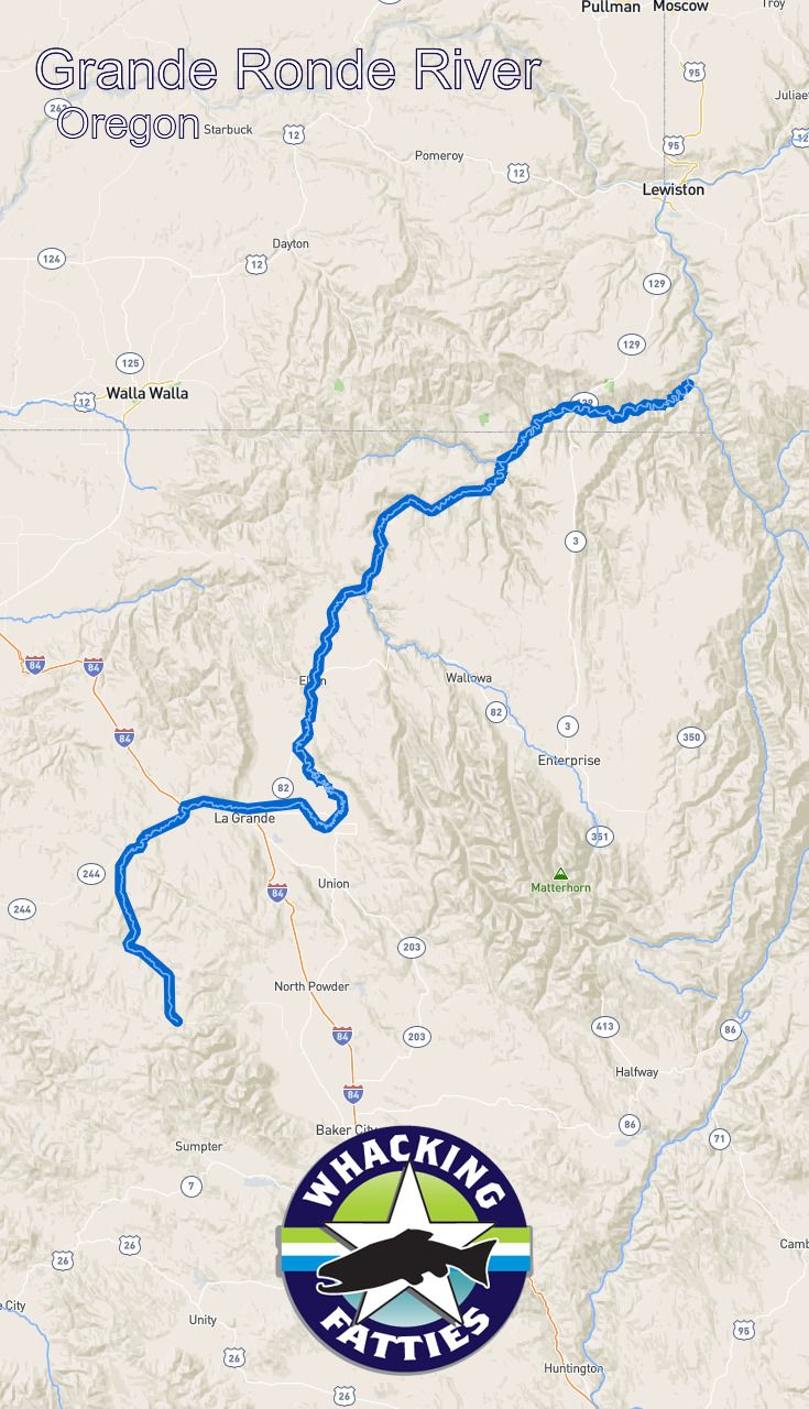 Grande Ronde River, Oregon fly fishing report. Check out Whacking Fatties for the latest fly fishing report and forecast.  With the goal of better understanding fly-fishing patterns and predicting location and ferocity of fishable events, Whacking Fatties presents the Fatty Factor: a fly-fishing success estimation model using proprietary big data analytics.  We promote responsible fishing via catch and release practice and water resources conservation. Portland, Salem, Eugene, flyfishing…