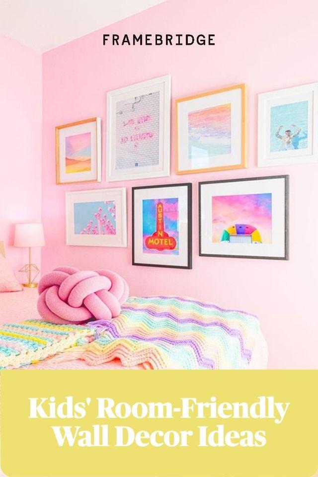 Kids Room Friendly Wall Decor Ideas Kids Room Frame Kids Art Kids Prints