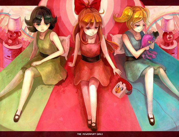 by overdoor | Community Post: 10 Amazing Pieces Of Powerpuff Girls Fan Art