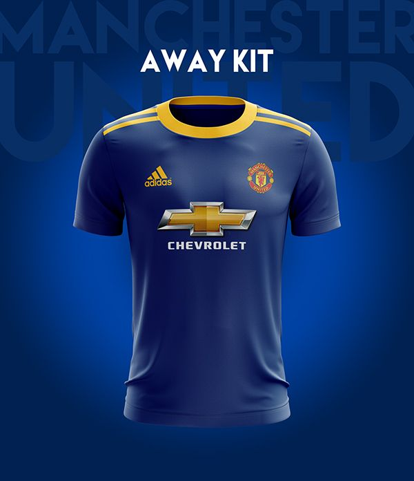 Manchester United Football Kit 18 19. on Behance  344a554c0