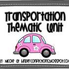 Transportation: A thematic unit