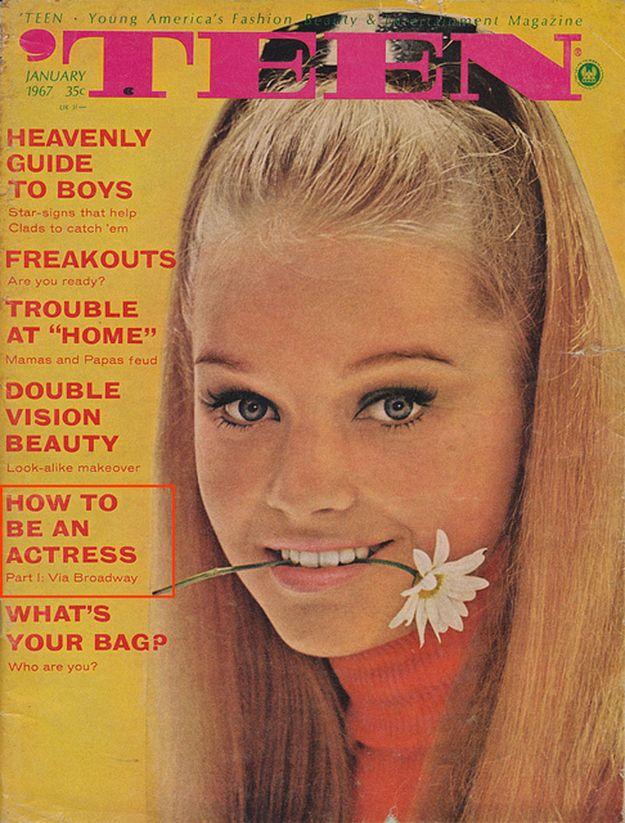 #vintage #teen #magazine
