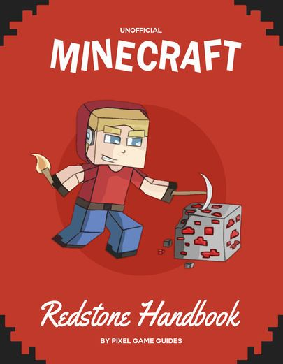 Minecraft Redstone Handbook - Pixel Game Guides | Games...: Minecraft Redstone Handbook - Pixel Game Guides | Games |929366815 #Games
