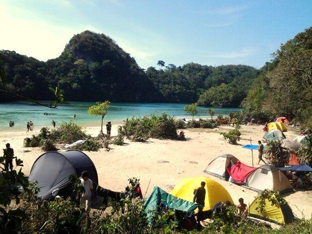 Inilah Keindahan Pulau Sempu, Surga Tersembunyi dari Malang Jawa Timur   PiknikDong