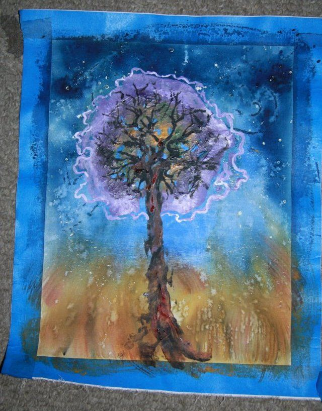 Strangely interesting how people offer placenta art services.... no wonder it is called the 'tree of life'