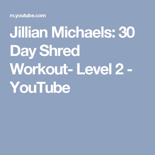 17 Best Ideas About 30 Day Shred On Pinterest
