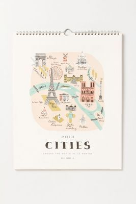 metropolis calendar ++ rifle paper co.: Rifles Paper Co, Cities Calendar, Paris Maps, Art Prints, Rifle Paper Co, Around The World, Paris Prints, Maps Prints, Riflepaper