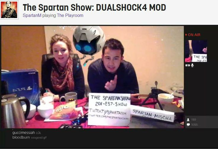 Couple Turns PS4 Playroom Twitch Stream Into Online Talk Show