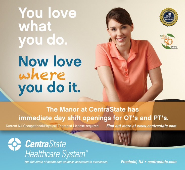Ad copy for CentraState Healthcare System. #copywriting #advertising
