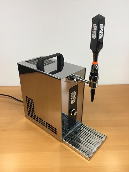 The portable OTC (over-the-counter) dispensing unit made of stainless steel is European designed and manufactured, meeting the highest hygiene standards. The OT