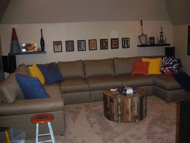 Our OKC Thunder Media Room