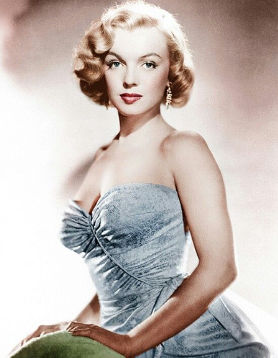 Soft and Feminine Miss Marilyn Monroe.