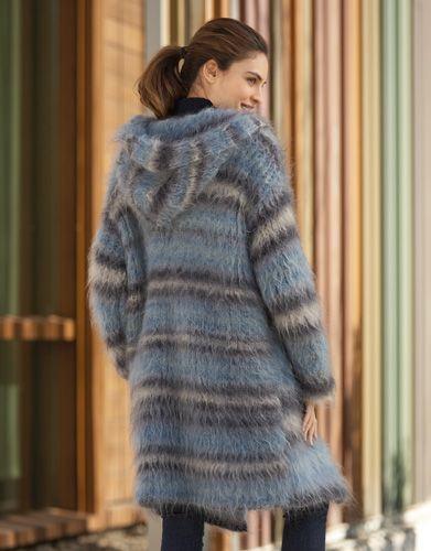 Catalogue Femme Urban 91 Automne / Hiver | 11: Femme Manteaux | Gris-Bleu