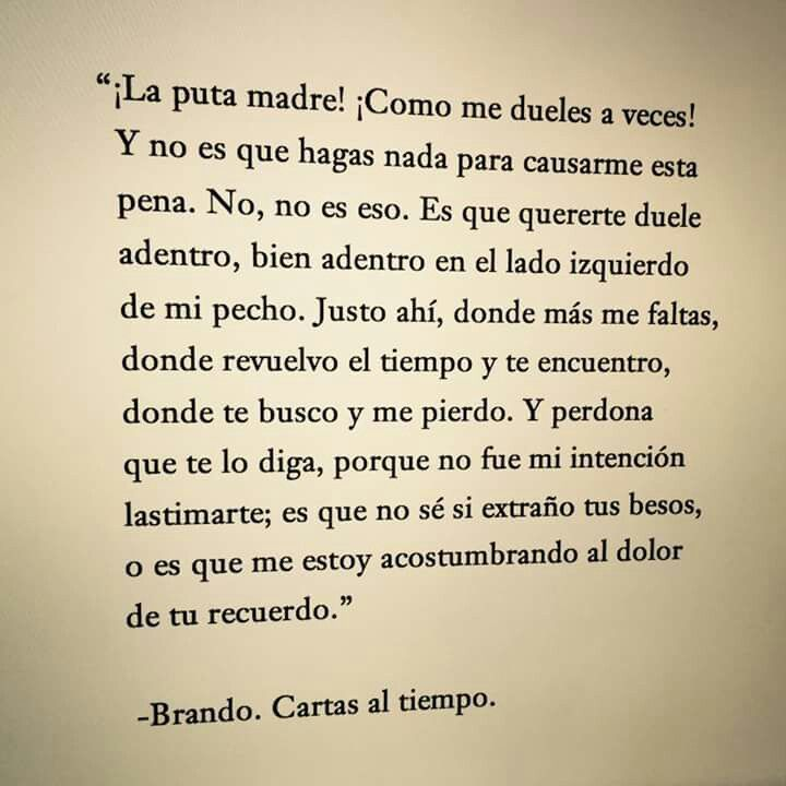 cartas al tiempo- mind of brando