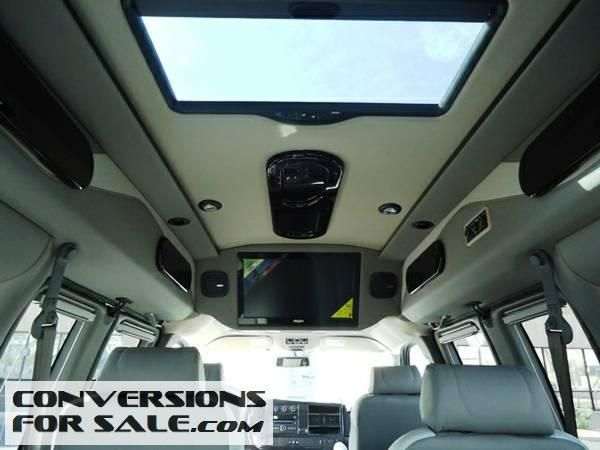 2014 Gmc Savana Majestic Conversion Van Conversion Vans For Sale Pinterest Conversion Van