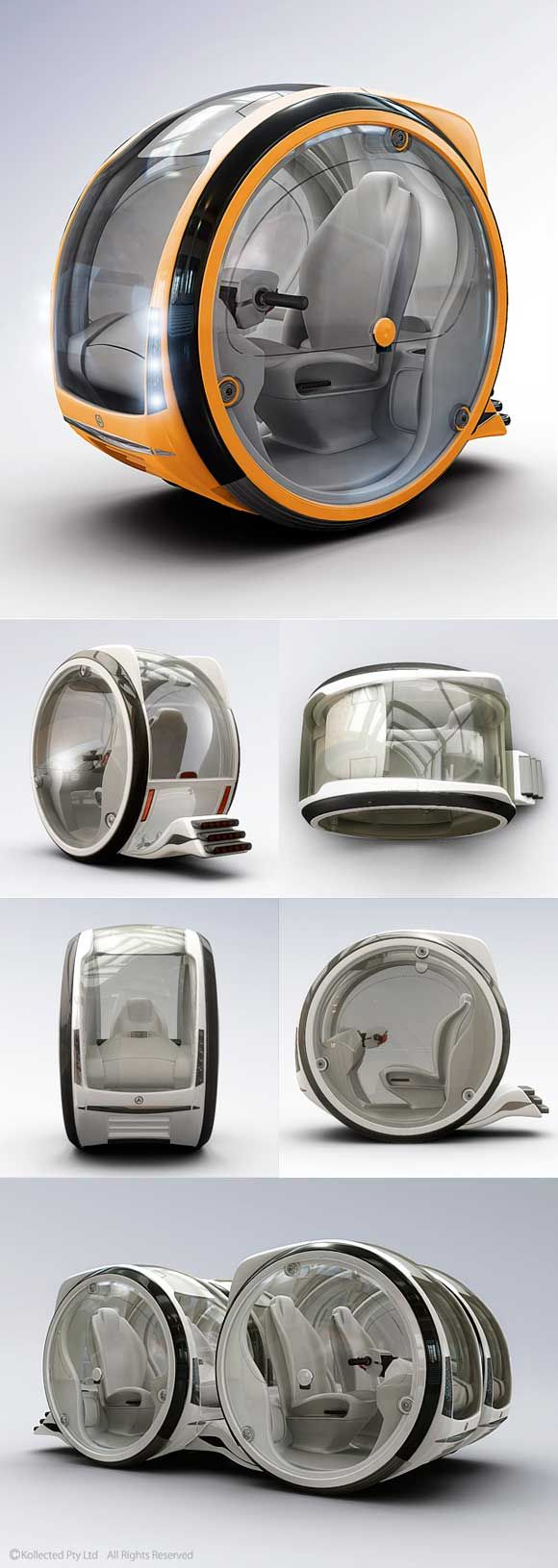 50 Awe-Inspiring Futuristic 3D Renderings by Nick Kaloterakis | MyCreativeDaddy
