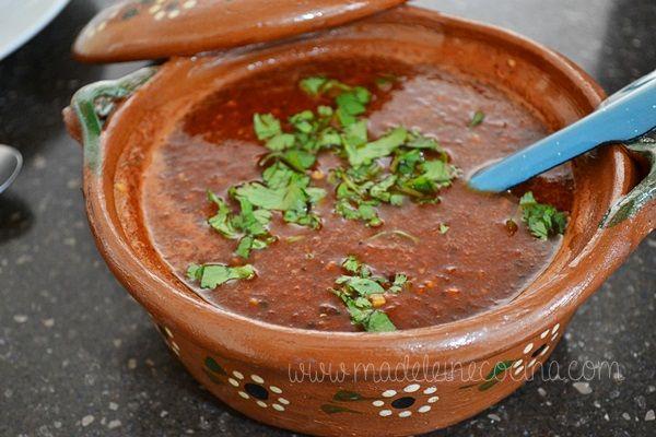 Salsa de muchos chiles #recipe