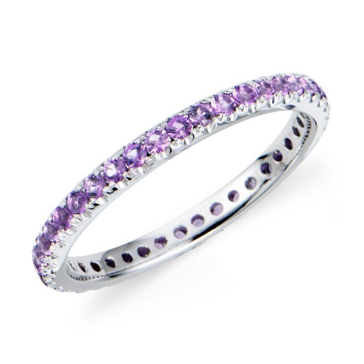 Purple Wedding Rings | ... rings, jewelry, wedding rings, purple, ring, rings, wedding, white