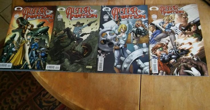 ALTER NATION Issues 1-4 Cancelled Series Image Comics Video Game Gamer Book
