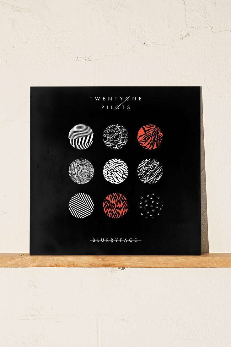 Twenty One Pilots - Blurryface LP - Urban Outfitters  #UOonCampus  #UOContest
